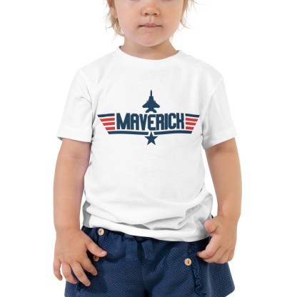 airplaneTees Maverick Toddler Tee Short Sleeve 3