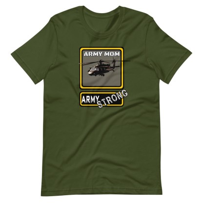 airplaneTees PERSONALIZE IT - Army Strong Tee, Army Mom, Dad, Rank, Class you name it. Short-Sleeve Unisex T-Shirt 8