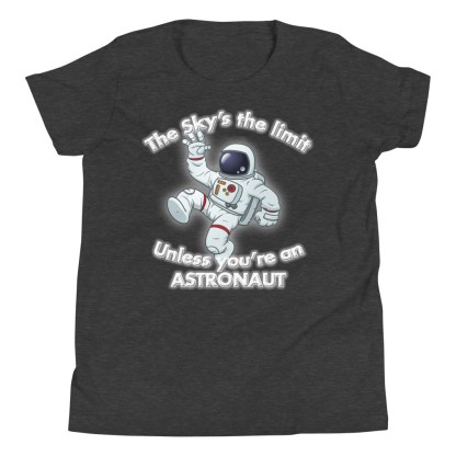airplaneTees The Sky's the limit tee youth - Option 1... Youth Short Sleeve T-Shirt 5