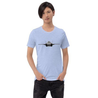 airplaneTees F35 Front View... Short-Sleeve Unisex T-Shirt 3