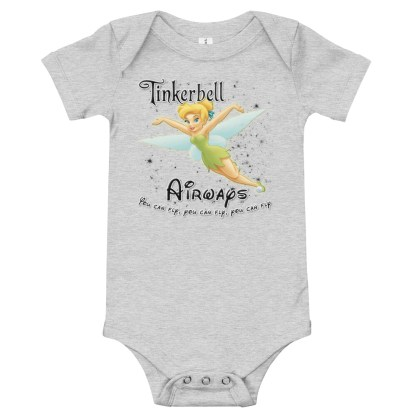 airplaneTees Tinkerbell Airways Onesie 2