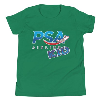 airplaneTees PSA Airlines Kid youth tee... Short Sleeve 7