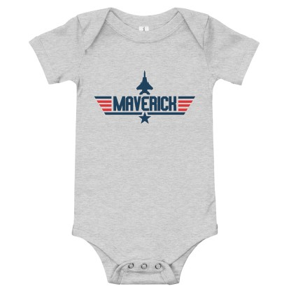 airplaneTees Maverick Onesie 1