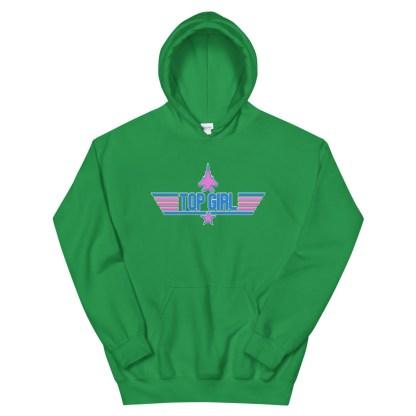 airplaneTees Top Girl Hoodie... Unisex 11
