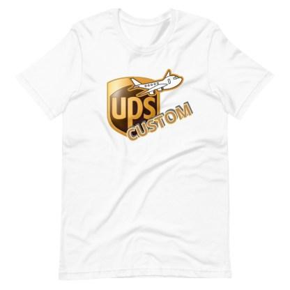 airplaneTees CUSTOM UPS Guy/Gal/Dad/Mom Tee Short-Sleeve Unisex 4