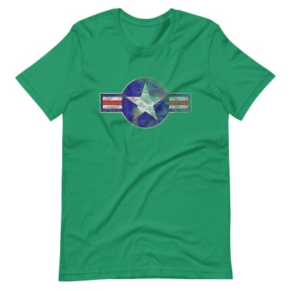 airplaneTees Roundel US Armed Forces tee weathered...Short-Sleeve Unisex T-Shirt 9