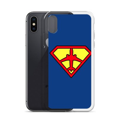 airplaneTees Superpilot iPhone Case 12