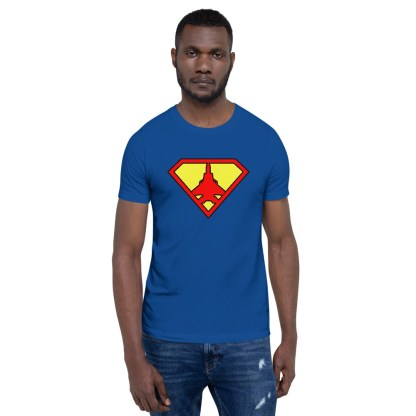 airplaneTees Super Fighter Pilot Tee... Short-Sleeve Unisex 2