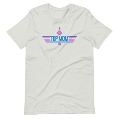 airplaneTees Top Mom tee in Pink... Short-Sleeve Unisex 8