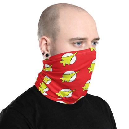 airplaneTees Fighter Flash Face Covering/Neck Gaiter 2