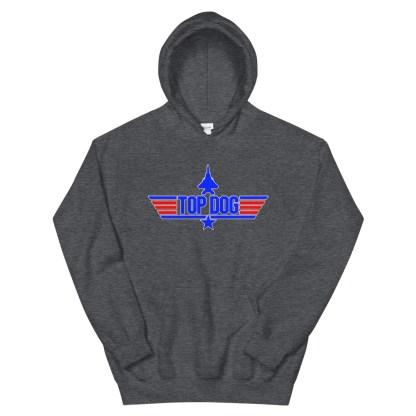 airplaneTees Top Dog Hoodie... Unisex 8