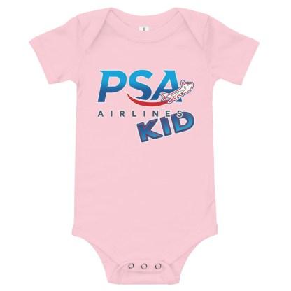 airplaneTees PSA Airlines Kid Onesie 7