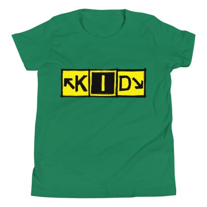 airplaneTees KID Taxiway Art Tee... Youth Short Sleeve T-Shirt 1