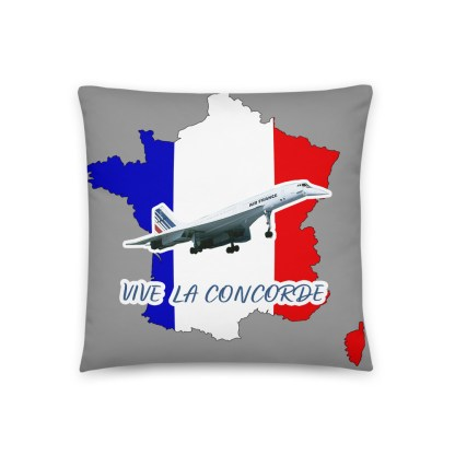 airplaneTees Vive La Concorde Pillow 4