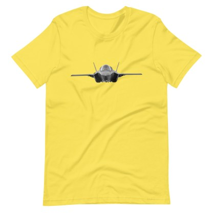 airplaneTees F35 Front View... Short-Sleeve Unisex T-Shirt 14