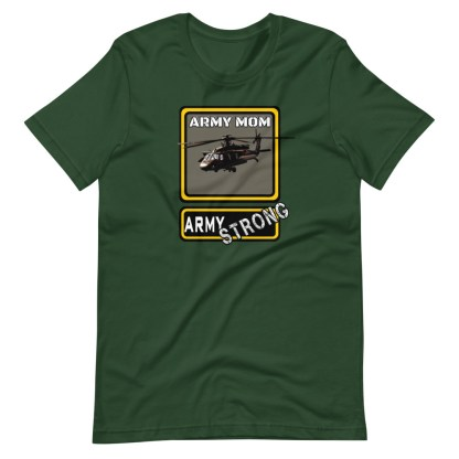 airplaneTees PERSONALIZE IT - Army Strong Tee, Army Mom, Dad, Rank, Class you name it. Short-Sleeve Unisex T-Shirt 10