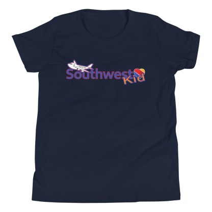 airplaneTees Southwest Kid Youth Tee... Short Sleeve T-Shirt 4