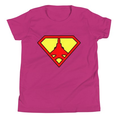 airplaneTees Super Fighter Pilot Youth Tee... Short Sleeve 6