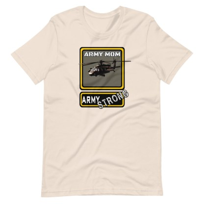 airplaneTees PERSONALIZE IT - Army Strong Tee, Army Mom, Dad, Rank, Class you name it. Short-Sleeve Unisex T-Shirt 12