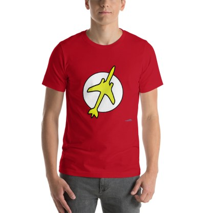 airplaneTees The Pilot Flash Tee... Short-Sleeve Unisex T-Shirt 2