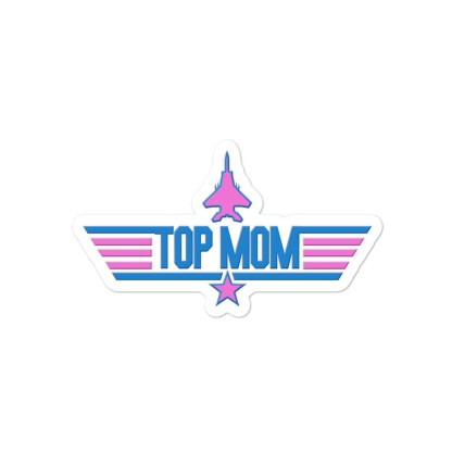 airplaneTees Top Mom stickers - Light... Bubble-free 3