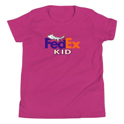 airplaneTees FedEx Kid Youth Tee... Short Sleeve T-Shirt 7