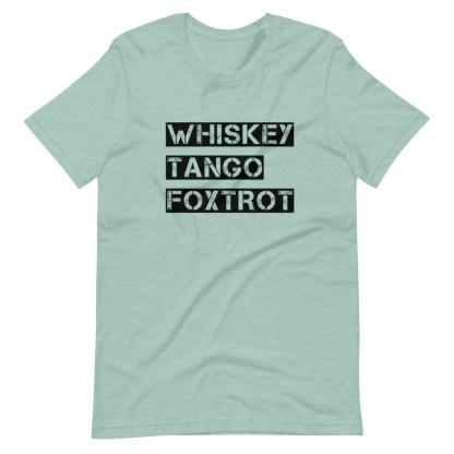 airplaneTees WTF, Whiskey Tango Foxtrot Tee... Short-Sleeve Unisex T-Shirt 8