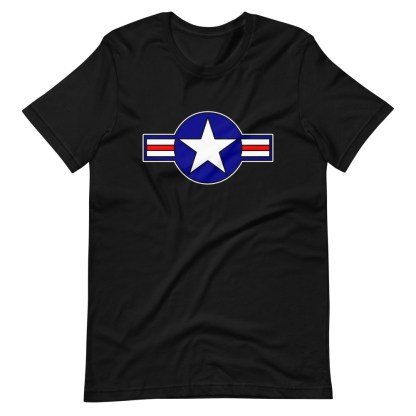 airplaneTees Roundel US Armed Forces Tee... Short-Sleeve Unisex 7
