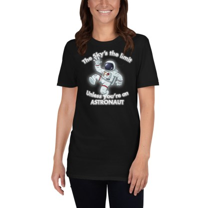 airplaneTees The Sky's the limit tee - Option 1... Short-Sleeve Unisex 4