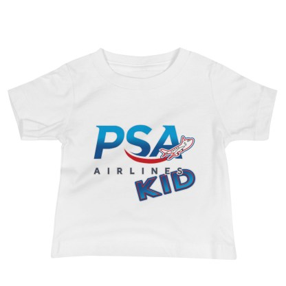 airplaneTees PSA Airlines Kid Infant Tee... Baby Jersey Short Sleeve 4