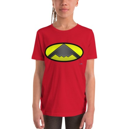 airplaneTees B2 Bomber Batman Youth Tee... Youth Short Sleeve T-Shirt 2