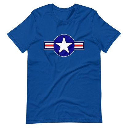 airplaneTees Roundel US Armed Forces Tee... Short-Sleeve Unisex 10