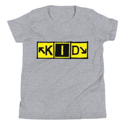 airplaneTees KID Taxiway Art Tee... Youth Short Sleeve T-Shirt 7