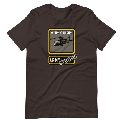 airplaneTees PERSONALIZE IT - Army Strong Tee, Army Mom, Dad, Rank, Class you name it. Short-Sleeve Unisex T-Shirt 6