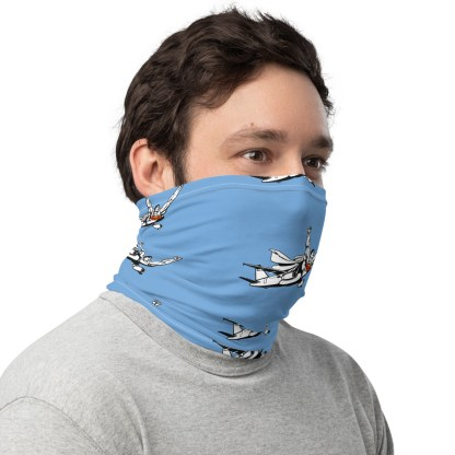 airplaneTees SuperPlane Face Mask/Covering/Neck Gaiter 2