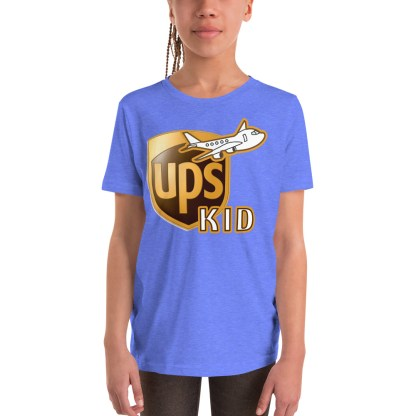 airplaneTees UPS Kid Youth Tee... Short Sleeve T-Shirt 2