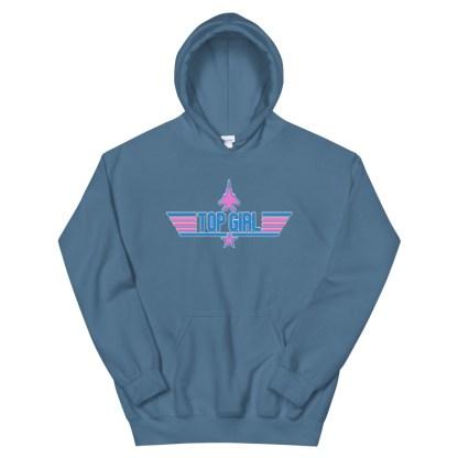 airplaneTees Top Girl Hoodie... Unisex 10