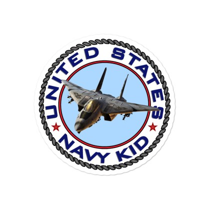 airplaneTees US Navy Kid Stickers... Bubble-free 2