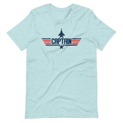 airplaneTees Captain Maverick Style Tee... Short-Sleeve Unisex 14