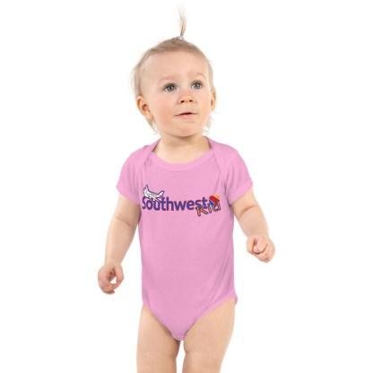 airplaneTees Southwest Kid Onesie... Rabbit Skins... Infant Bodysuit 2