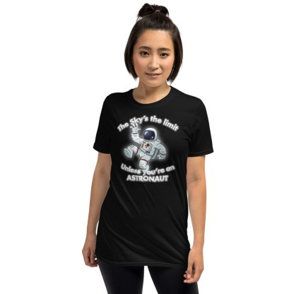 airplaneTees The Sky's the limit tee - Option 1... Short-Sleeve Unisex 3