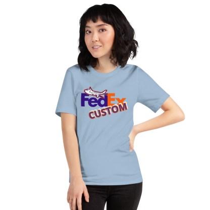 airplaneTees CUSTOM FedEx Tee Guy/Gal Tee Short-Sleeve Unisex 4