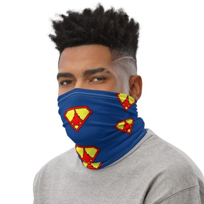 airplaneTees Super Fighter Pilot Face Covering/Neck Gaiter 3