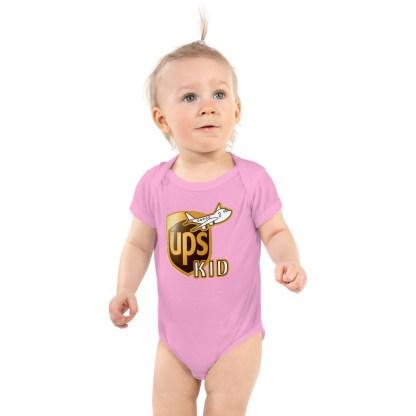 airplaneTees UPS Kid Onesie... Rabbit Skins... Infant Bodysuit 2