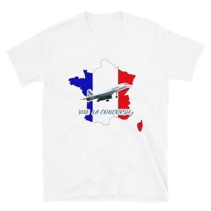 airplaneTees Vive La Concorde Tee... Short-Sleeve Unisex 7