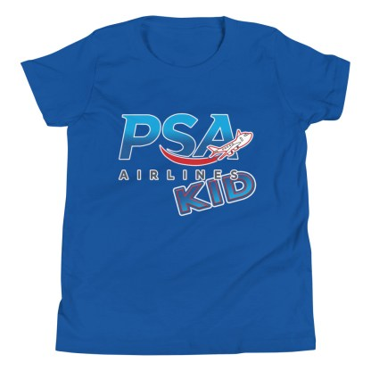 airplaneTees PSA Airlines Kid youth tee... Short Sleeve 9