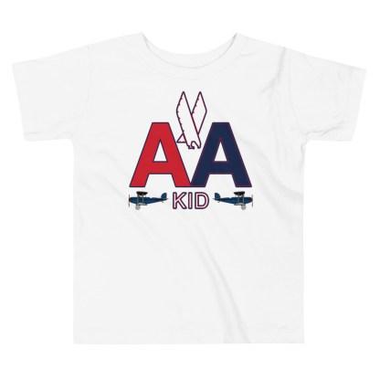 airplaneTees American Kid Toddler Tee... Short Sleeve 3