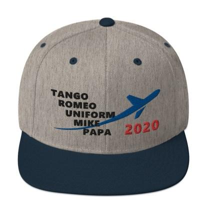 airplaneTees TRUMP 2020 Hat- Black... Snapback Hat 5