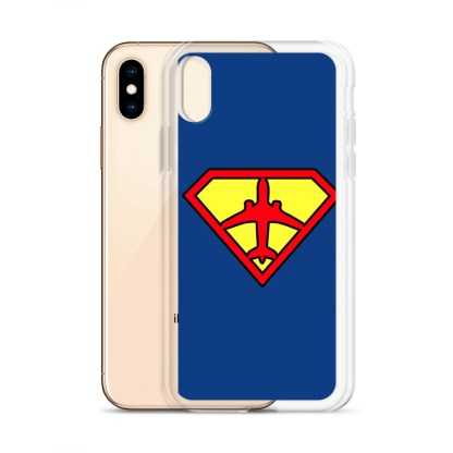 airplaneTees Superpilot iPhone Case 14