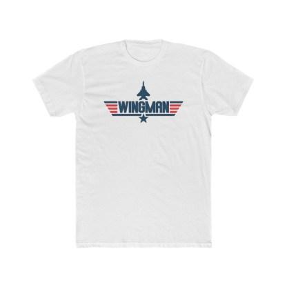 airplaneTees Maverick Wingman Tee... Men's Cotton Crew 2